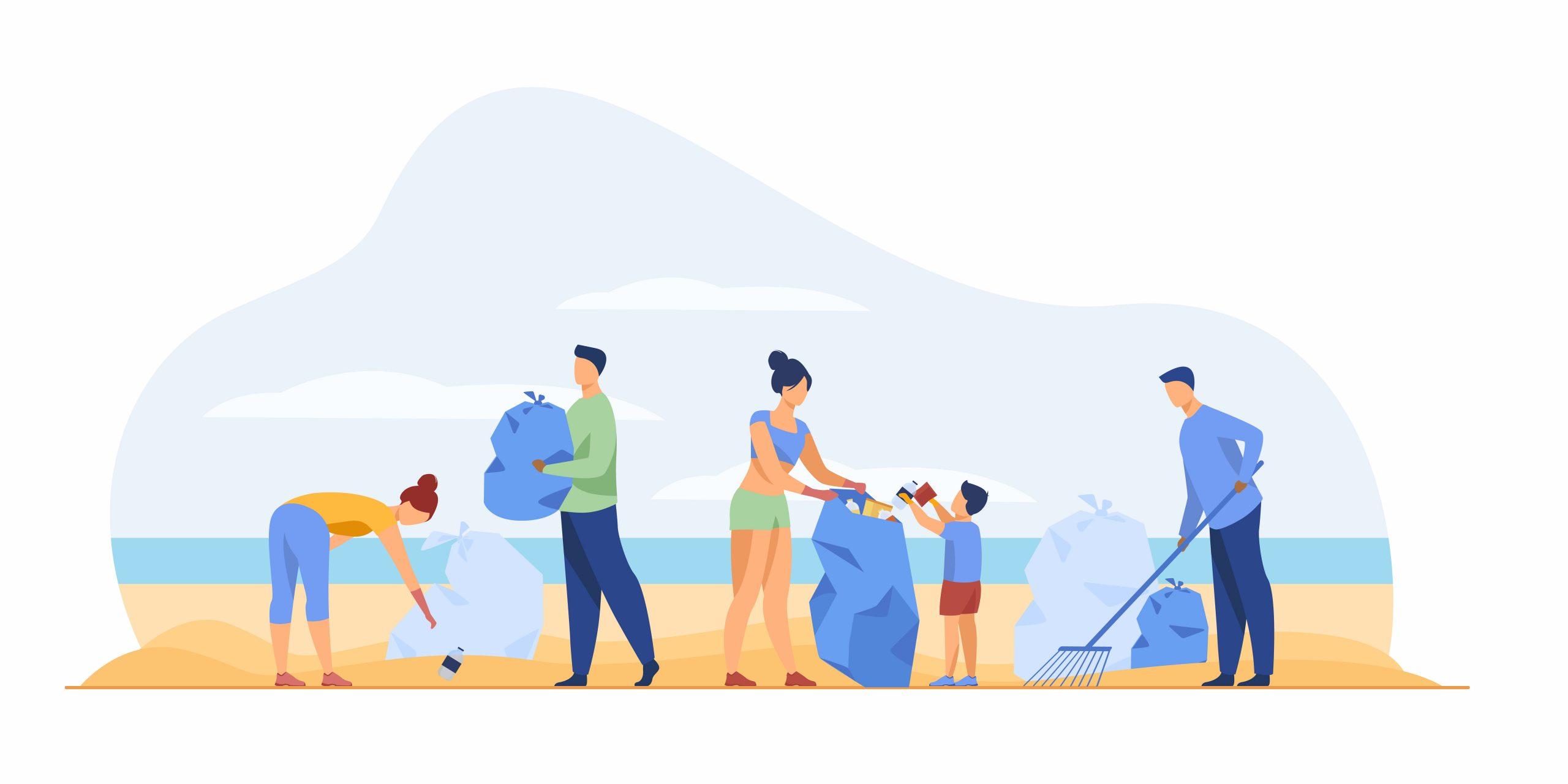 Nettoyage de plages