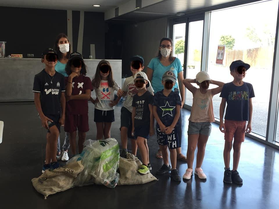 ramassage déchets chateauneuf