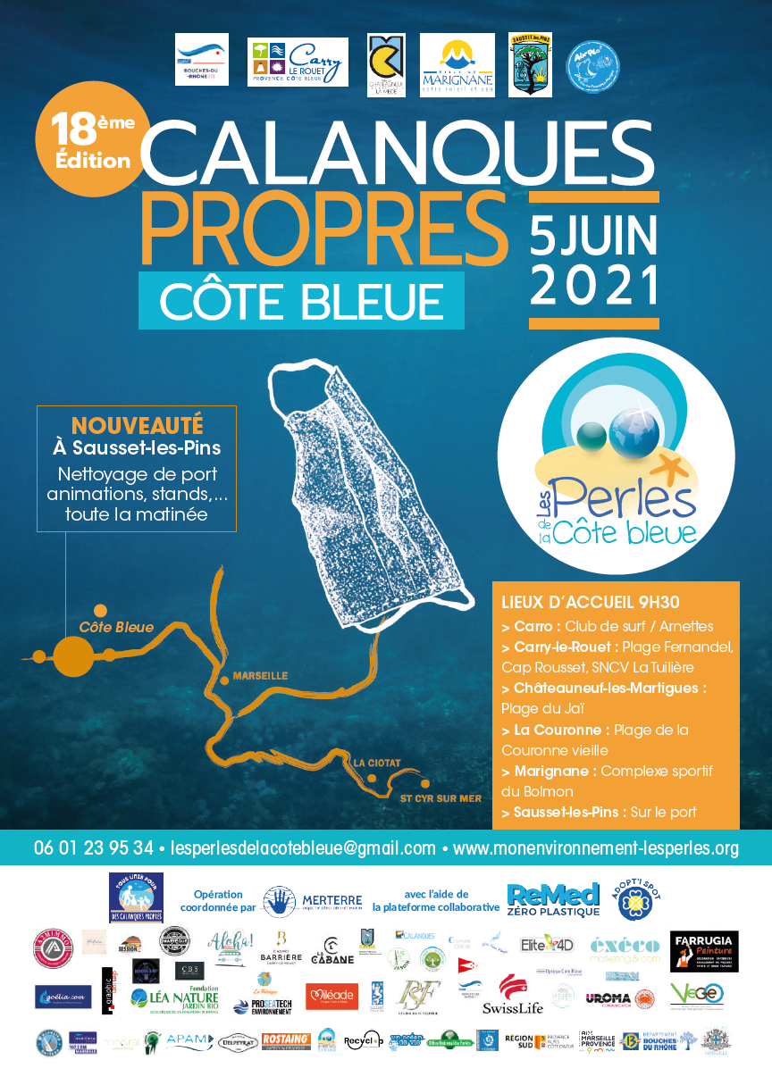 Calanques Propres Côte Bleue 2021